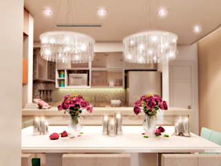 Salle à manger moderne par Karinna Buchalla Interiores Moderne