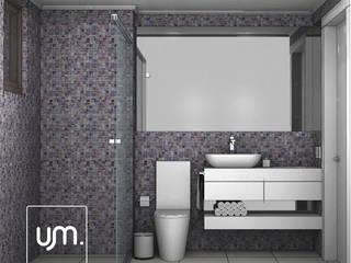 Reforma Residencial | Cozinha | K&L:   por UM arquitetura