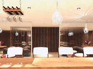 Revoluzione Wine Cellar di Interiorista Teresa Avila Moderno