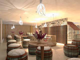 Revoluzione Wine Cellar de Interiorista Teresa Avila Moderno