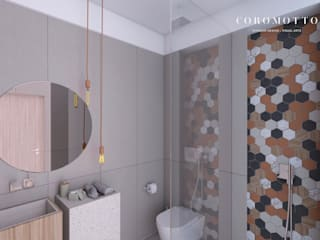 Coromotto Interior Design Eclectic style bathroom