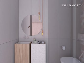 Eclectic style bathroom by Coromotto Interior Design Eclectic