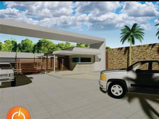 PORTADA CONDOMINIO CAMPESTRE / Reciclaje Arquitectonico ION arquitectura SAS Casas de estilo minimalista