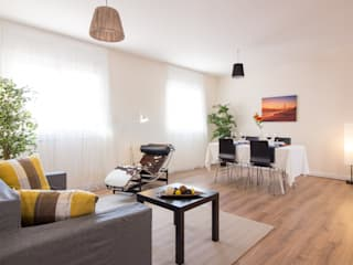 Home Staging en piso vacío (Barcelona):  de estilo  de Impuls Home Staging en Barcelona