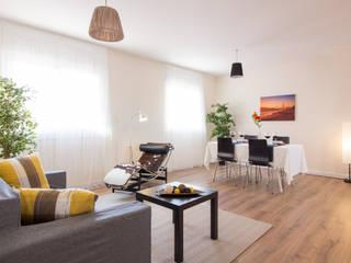 Home Staging en piso vacío (Barcelona) de Impuls Home Staging en Barcelona Moderno