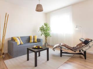غرفة المعيشة تنفيذ Impuls Home Staging en Barcelona