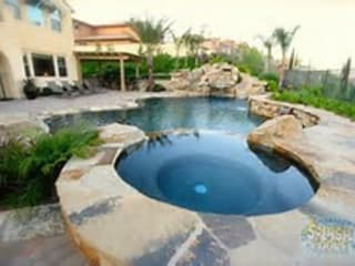 Splash Spa Pool:   by CapeTown Pools,