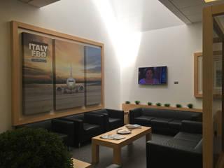 Sala Vip Lounge: Aeroporti in stile  di Studio Ad.G.G., Classico