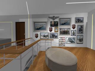 showroom:  in stile  di Studio Ad.G.G., Classico