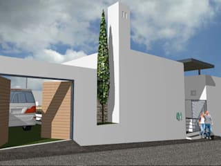 Home Solution & Design Minimalist house Concrete White