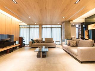 療癒樂活環境-半山景觀別墅 根據 果仁室內裝修設計有限公司 簡約風