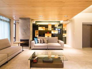 Minimalist living room by 果仁室內裝修設計有限公司 Minimalist