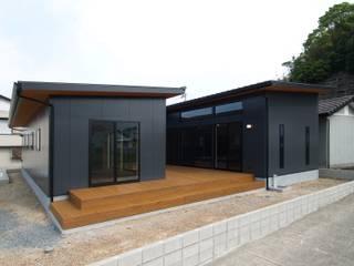 庵川の家: ai建築アトリエが手掛けた家です。,