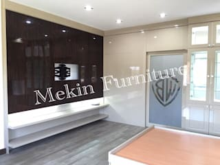 by Mekin Furniture Hi Gloss Built In