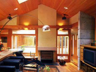僕の設計した手造り暖炉のある家 の 片倉隆幸建築研究室