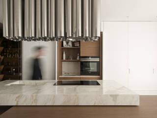 Penthouse Z: Cucina in stile  di Piertito Cardillo    Interior | Design | Architecture