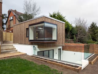 Arthur Road Moderne Häuser von Frost Architects Ltd Modern