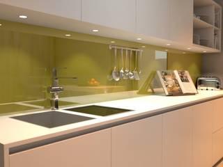 Mutfak Tezgah Arası Cam Panel Akdeniz Mutfak Altav Yapı Akdeniz