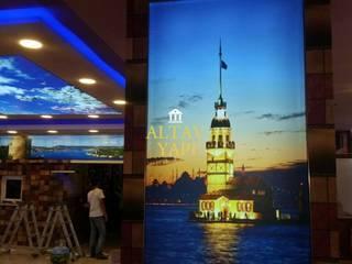 Gergi Tavan Modern Oturma Odası Altav Yapı Modern