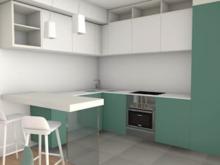 Modern kitchen by Laboratorio Creativo Up Modern