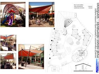 MALL PLAZA ALAMEDA:  de estilo  por surarquitectura