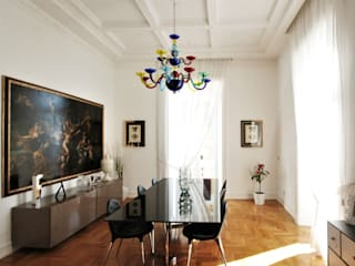 Imperatore Architetti Eclectic style dining room