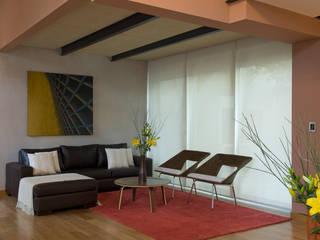 Salones de estilo moderno de ARQUITECTA MORIELLO Moderno