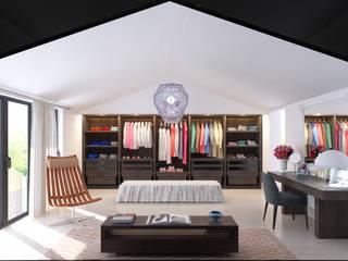 fatih beserek Modern style bedroom Wood Wood effect