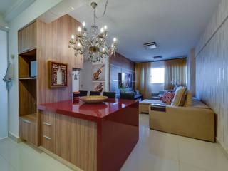 Modern dining room by 360+ arquitetura e interiores Modern