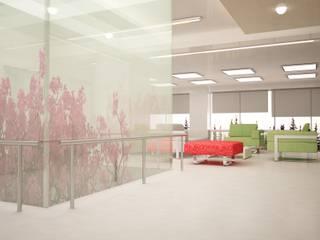 PROYECTO CASA VITRO: Salas multimedia de estilo moderno por mova