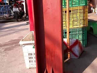 งานฐานรากเสาเสริมรับโครงหลังคา สท.เก๊า โดย บริษัทเข็มเหล็ก จำกัด