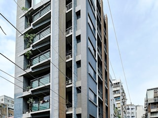 懷石 The House 現代房屋設計點子、靈感 & 圖片 根據 CCL Architects & Planners林祺錦建築師事務所 現代風