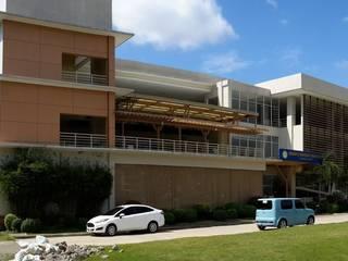 Three Storey School Building with Dormitory by Archcentric Design & Development Modern