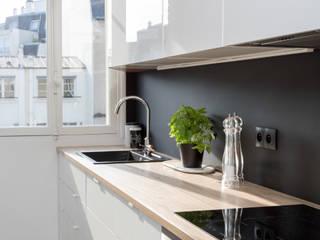 Moderne Küchen von Mon Concept Habitation Modern