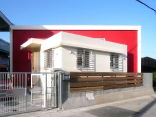 正面外観: 株式会社青空設計が手掛けた家です。