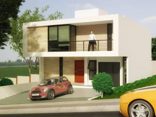 Residencia A140:  de estilo  por Javier Diaz │ arquitecto,