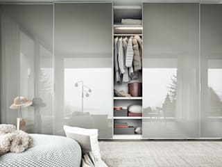 Fina Sliding Door Wardrobe :   by IQ Furniture