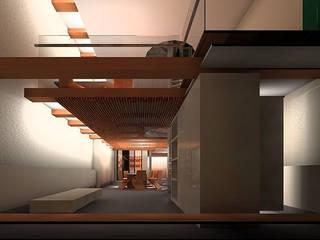 Keuken en speelkamer: moderne Keuken door Hugo Caron Architecten bna