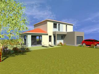 Divers Projets réalisés par CREAXIA Maisons modernes par Créaxia Moderne
