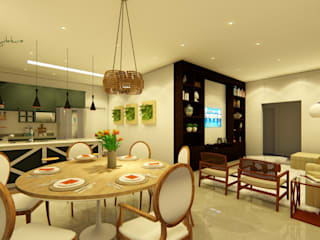 Residência Patrício Varandas, alpendres e terraços modernos por Oliveira Arquitetura Moderno