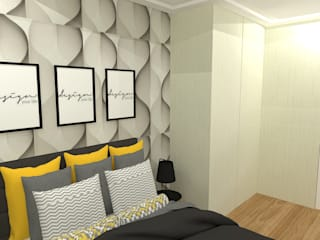 Modern style bedroom by Studio Beatriz Neves Modern