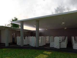 Salon Terraza de Interiorista Teresa Avila Moderno
