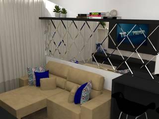 Salas de estar modernas por Studio Beatriz Neves Moderno