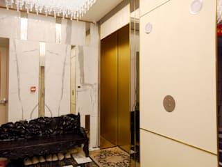 Casas de estilo ecléctico de 舍子美學設計有限公司 Ecléctico