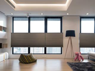 構築設計 Livings de estilo moderno