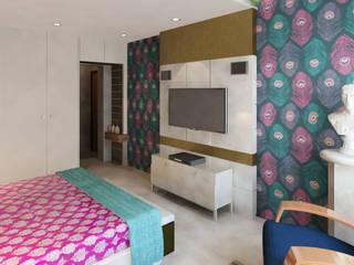 Sheth Residence:  Bedroom by Ramnani & Associates