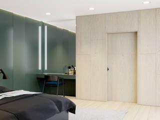 Dom w Krakowie: styl , w kategorii Sypialnia zaprojektowany przez NUKO STUDIO