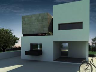 Projecto moradia unifamiliar: Casas  por Maisr Arquitectura e Reabilitação, lda.,Moderno