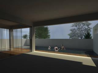 Projecto moradia unifamiliar: Salas de estar  por Maisr Arquitectura e Reabilitação, lda.,Moderno