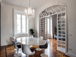 Classic style dining room by Tommaso Giunchi Architect Classic